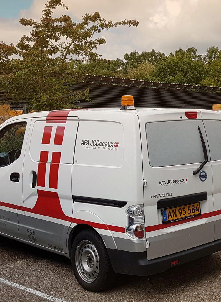 AFA JCDecaux bil